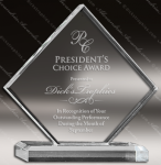 Diamond Shaped Acrylic Acrylic Awards