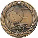 Basketball FE Iron Medal Medal Awards