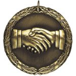 Hand Shake Medal Awards