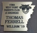 Arkansas Shaped Name Badge Name Badges | Plates