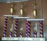 2 POST SERIES TROPHIES Trophies   Traditional